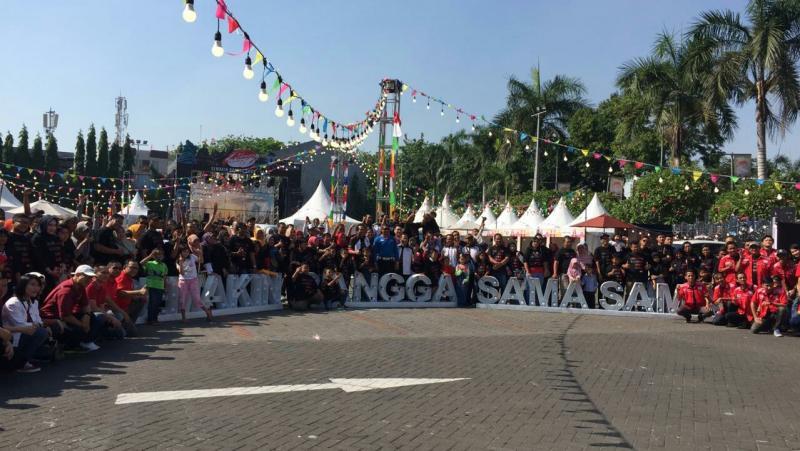 Festival Avanza-Veloz Sebangsa mendapat sambutan antusias pemilik Toyota Avanza di Surabaya