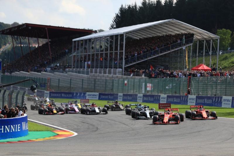 Charles Lecllrec (Ferrari) terdepan sejak start hingga finish, berbuah gelar perdana. (Foto: f1.com)