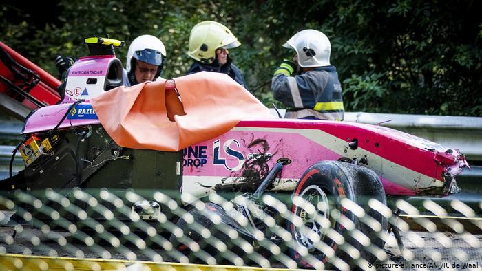 Anthoine Hubert meregang nyawa usai kecelakaan fatal saat race Formula 2 GP Belgia (ist)