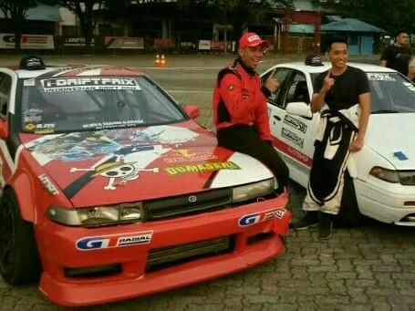 M Irdam (racing suite merah), terima kasih atas performa GT Radial Champiro SX2.
