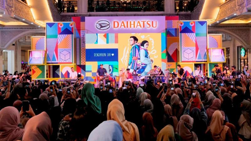Suasana Keramaian Daihatsu Urban Fest 2019 di Jogja City Mall saat artist perfomance. (dok. ADM)