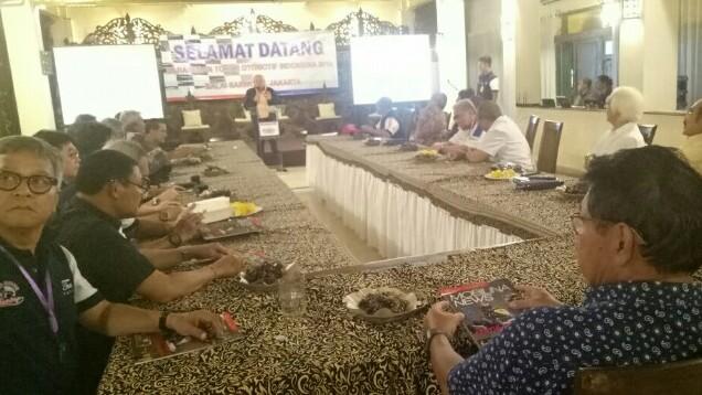Suasana Sarasehan Tokoh Otomotif Indonesia 2019 di Balai Sarwono, Jeruk Purut, Jaksel, Rabu malam ini