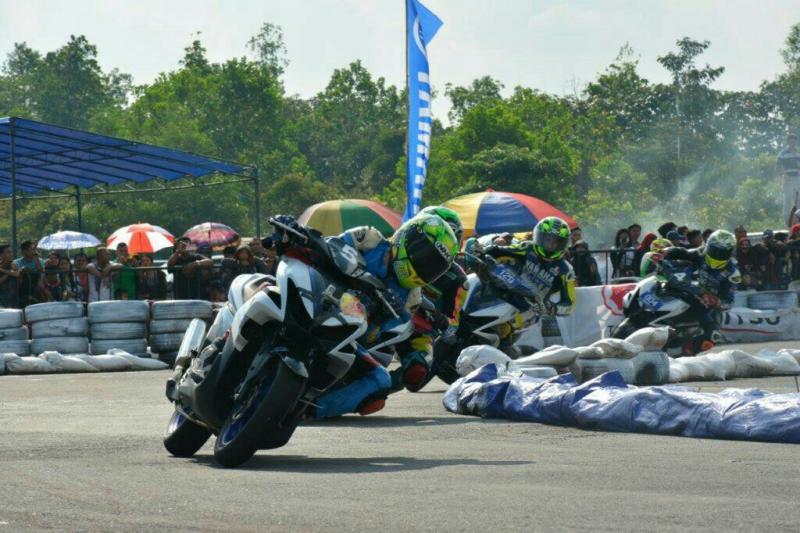 Yamaha Cup Race 2019 di kabupaten Sintang, Kalimantan Barat berlangsung sukses.
