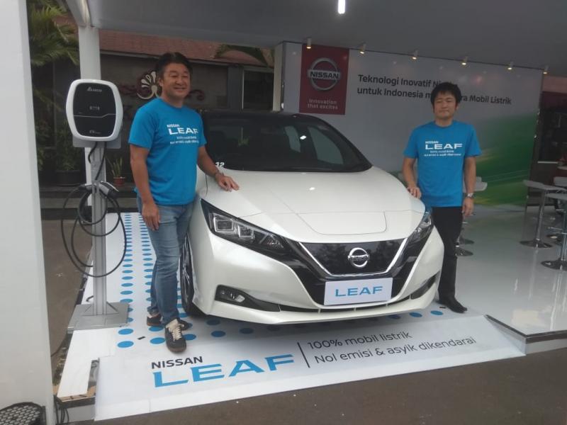 Nissan LEAF, salah satu kendaraan listrik terlaris di dunia dan teknologi e-POWER Nissan yang inovatif dan unik.(anto)