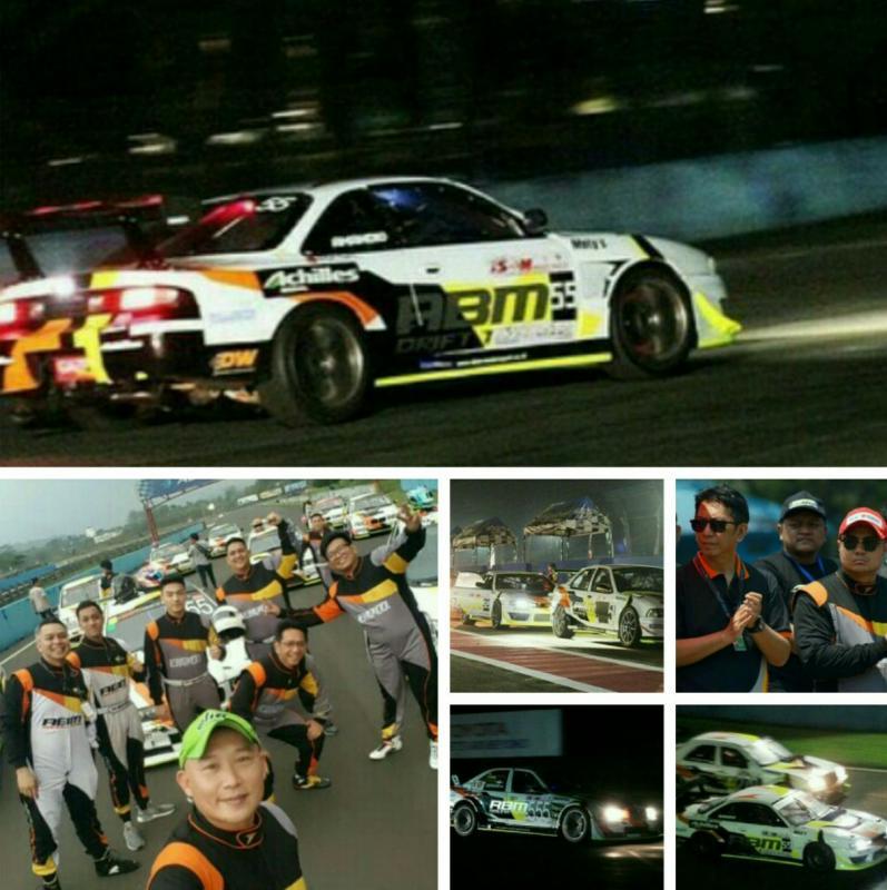 Skuad ABM motorsport memborong 15 trofi di ISSOM Night Race 2019