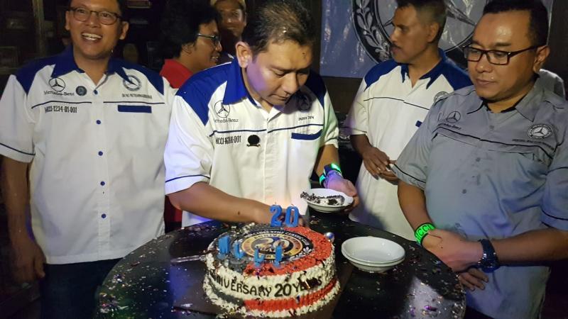 Merceded Benz Classic Club Indonesia rayakan anniversary ke-20 tahun