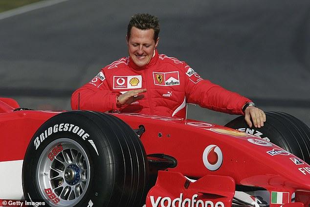 Michael Schumacher (Jerman) saat berjaya bersama tim Ferrari. (Foto: dailymail/gettyimage)