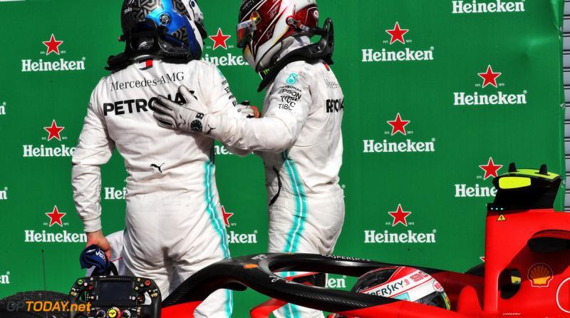 Duo Mercedes, Lewis Hamilton dan Valtteri Bottas, menyongsong 7 seri sisa dengan gap 63 poin. (Foto: gptoday)
