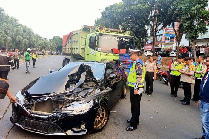 Kecelakaan lalu lintas sering kali dikarenakan rem truk tidak berfungsi hingga supir truk yang mengantuk (foto:ist)