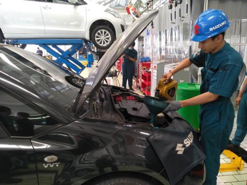 Pada Suzuki Day Singaraja, sebanyak 269 pelanggan mendapatkan gratis pemeriksaan 23 item sesuai standar Suzuki. (anto)