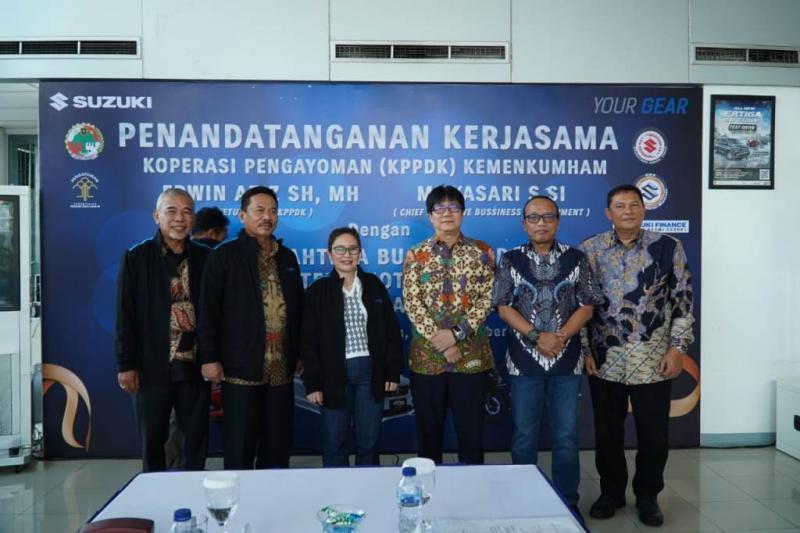 Suzuki jalin kerjasama dengan Koperasi Pengayoman Pegawai Departemen Hukum dan HAM RI (KPPDK)