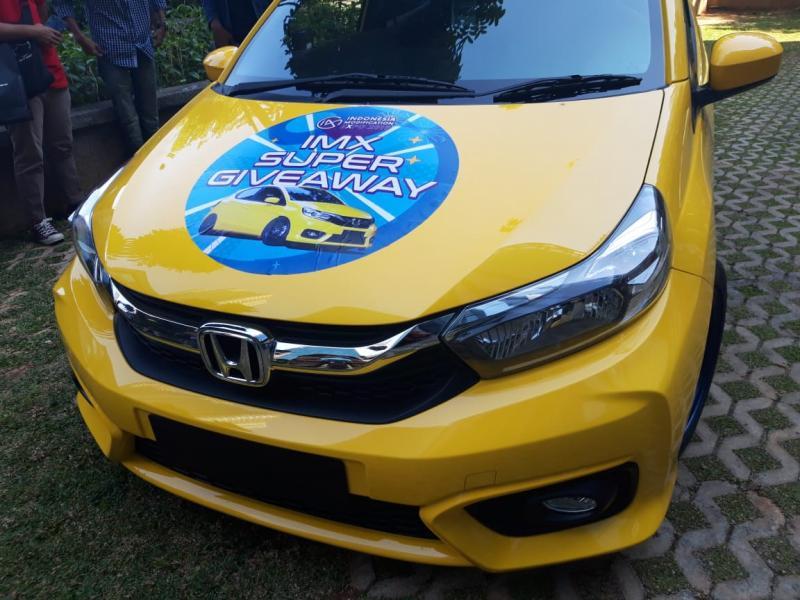 IMX 2019 hadirkan giveaway satu unit Honda Brio modifikasi