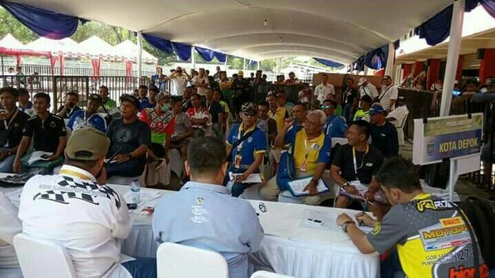 Briefing kualifikasi PON Papua telah dilakukan pada Selasa kemarin di sirkuit Sentul Kecil