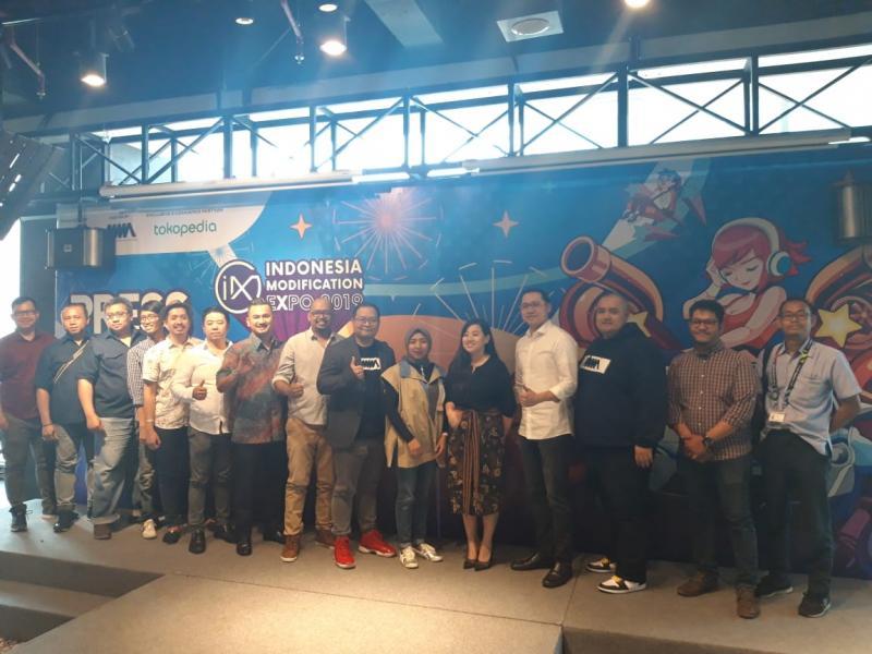 Kick off Indonesia Modification Expo (IMX) 2019 siapkan banyak kejutan
