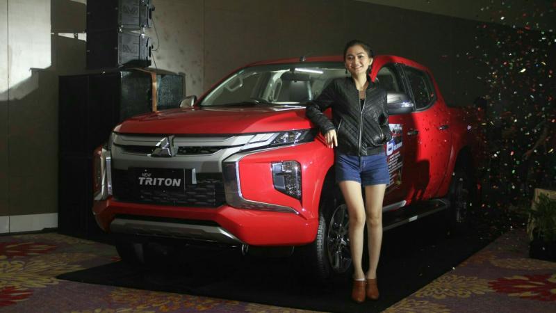 Mitsubishi New Triton diperkenalkan kepada konsumen potential di Makassar