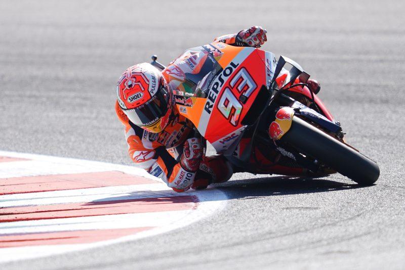 Marc Marquez (Honda), bakal tampil beda di Misano 2019. (Foto: hrc)