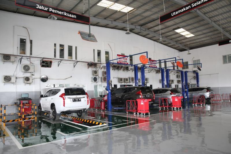 Dealer ini merupakan fasilitas dealer resmi kendaraan penumpang Mitsubishi pertama di Banjarbaru, Kalimantan Selatan. (ist)