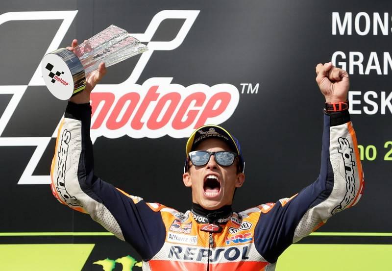 Songsong gelar ke-6 di MotoGP (ke-8 di Grand Prix), Marc Marquez hanya butuh tambahan poin 58. (Foto: thestar)