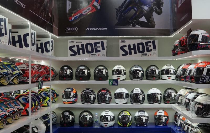 PT Prakarsa Bangun Sarana jadi distributor resmi helm Shoei di Indonesia