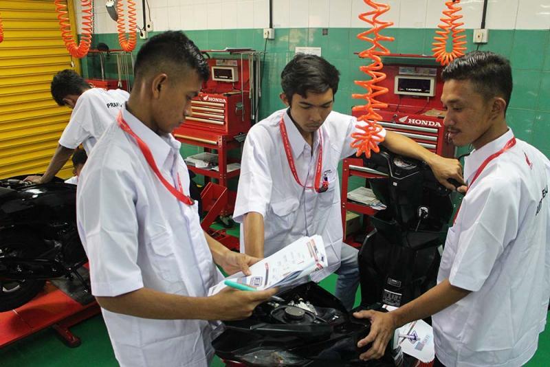 Astra Honda Motor (AHM) menggelar program pelatihan Astra Honda Youthpreneurship Program (AHYPP)