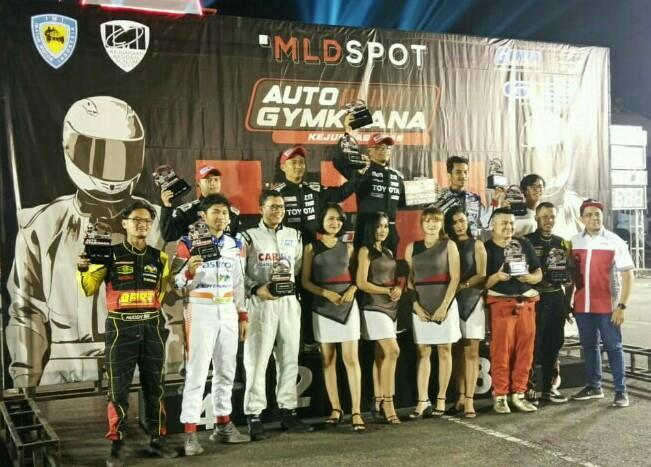 Anjasara Wahyu dari Toyota Team Indonesia TRD rajai kelas A di Cianjur