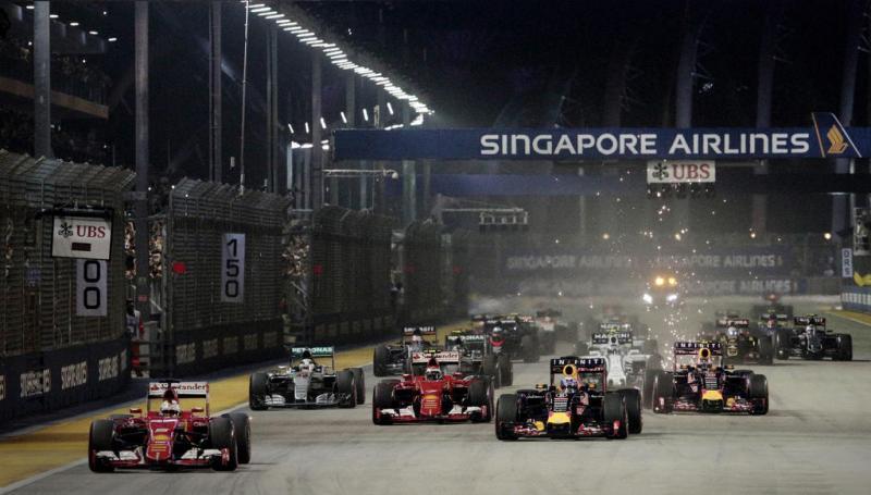 GP Singapura di Marina bay Street Circuit, semoga terlaksana pada akhir pekan ini tanpa gangguan asap dari Indonesia. (Foto: todayonline)