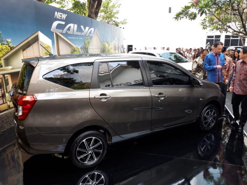 New Toyota Calya ditawarkan dalam empat varian