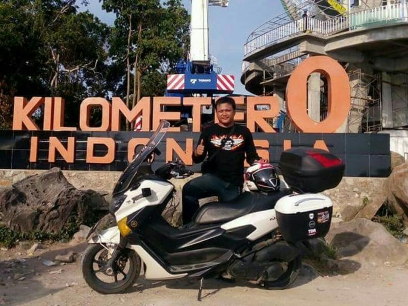 Yudi Kusuma, touring jarak jauh nyaman dengan mengendara NMax