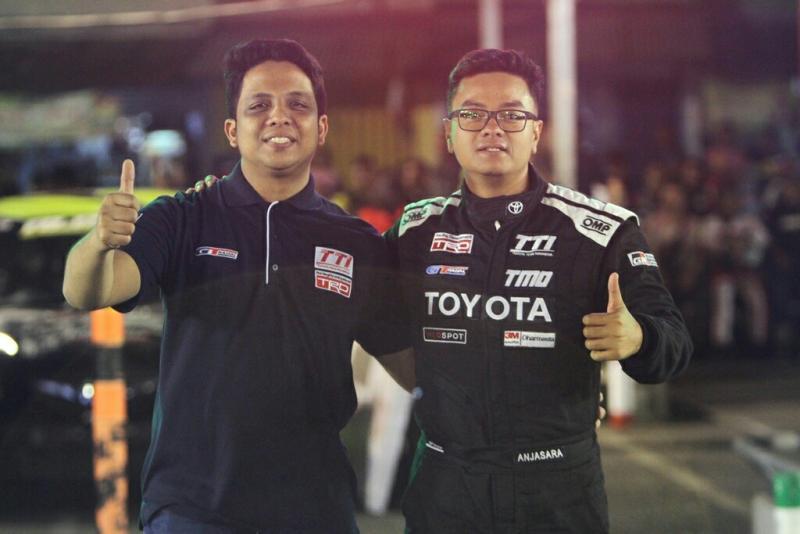 Anjasara Wahyu dan Rizki Andromerdi, sinergi TTI & GT Radial
