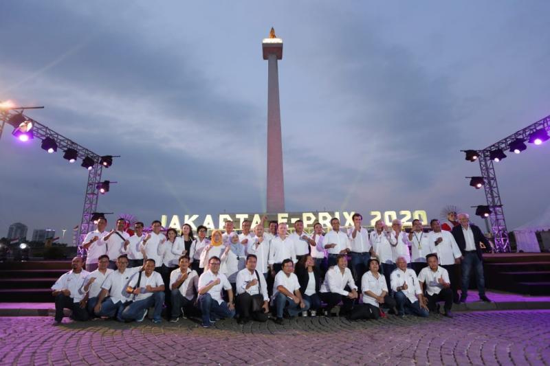 Jakarta dipastikan menggelar Formula E bulan Juni 2020 nanti