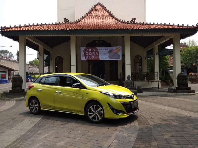 New Toyota Yaris cocok untuk keluarga muda (foto: Anto)