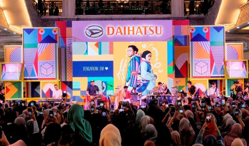 Program ini merupakan cara unik Daihatsu dalam mendekatkan diri ke generasi milenial kekinian yang selalu haus untuk mengekspresikan jiwanya. (anto)