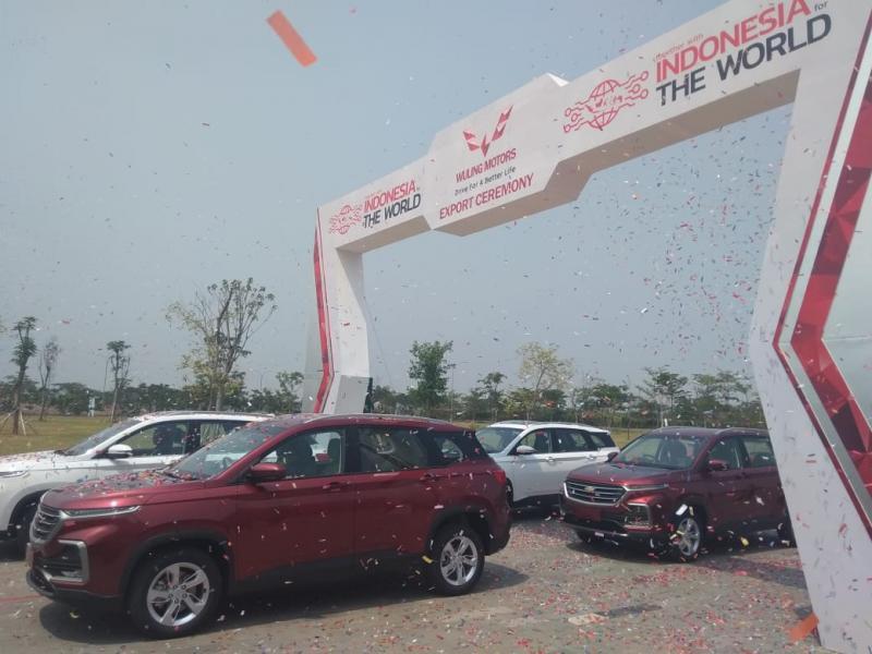 Wuling Almaz dikembangkan di China dan dipasarkan ke seluruh dunia dalam empat merek di bawah lisensi General Motors. (anto)