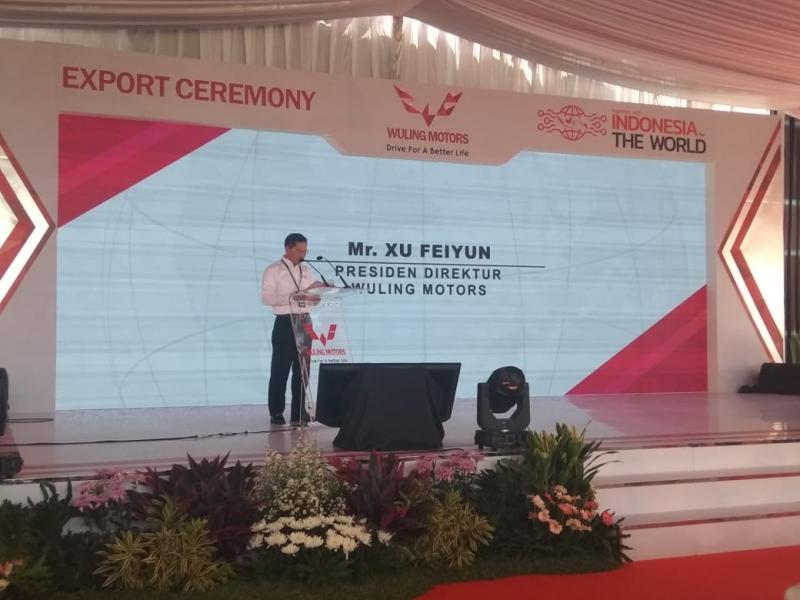 Xu Feiyun, Kami akan terus memperluas bisnis kami di area lain dan berikan kontribusi besar untuk ekonomi Indonesia. (anto)