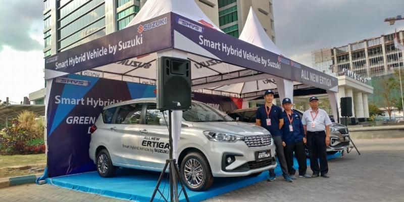 Dalam kegiatan ini Suzuki juga memperkenalkan teknologi Smart Hybrid Vehicle by Suzuki (SHVS) kepada para mahasiswa dan seluruh pengunjung KMHE 2019 sebagai jembatan Suzuki menuju era mobil listrik. (anto)