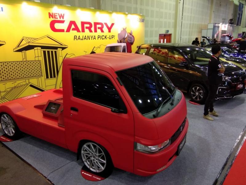 Suzuki pamerkan New Carry Fluzh Concept dan All New Ertiga Suzuki Sport di IMX 2019