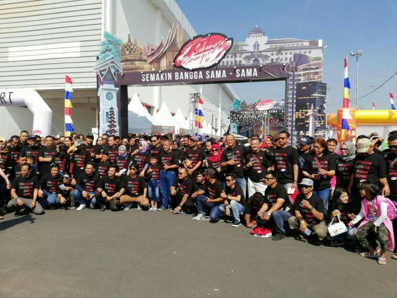 Antusiasme yang besar warga Semarang terhadap Festival Avanza-Veloz Sebangsa