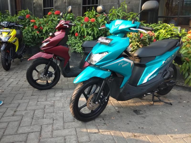 Suzuki NEX II kini semakin banyak pilihan warna baru yang berkelas. (anto)