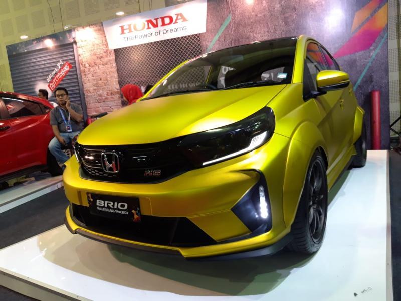 PT Honda Prospect Motor pamerkan modifikasi Brio dengan konsep Sporty Elegan
