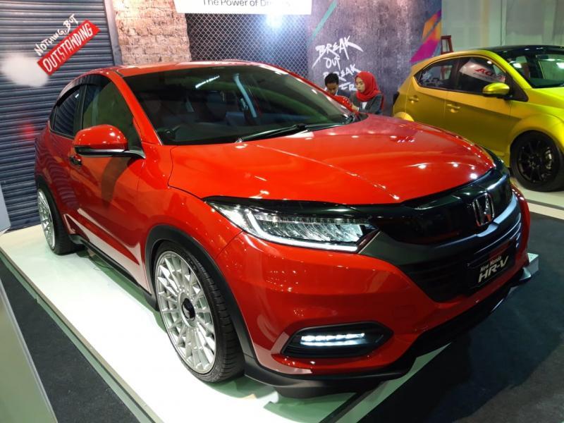 PT Honda Prospect Motor (HPM) turut meramaikan ajang Indonesia Modification Expo (IMX) 2019