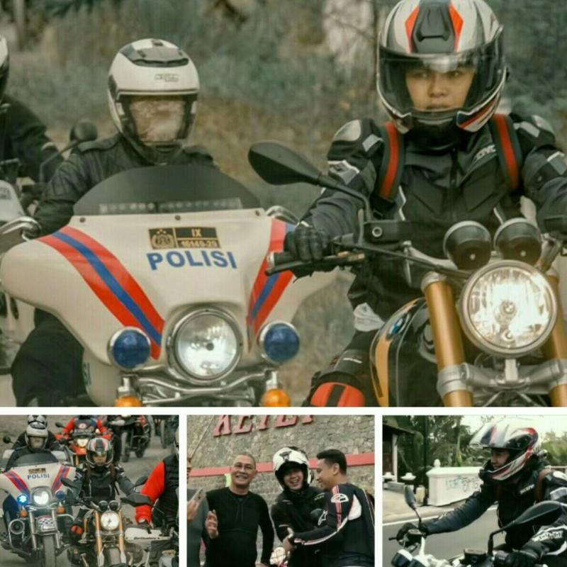Touring moge Nikita Mirzani dari Semarang ke Yogyakarta
