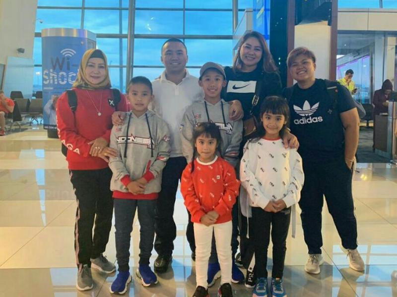Aditya Wibowo dan keluarga bertolak ke Italia sebelum ke Perancis ikutin IAME International Final 2019