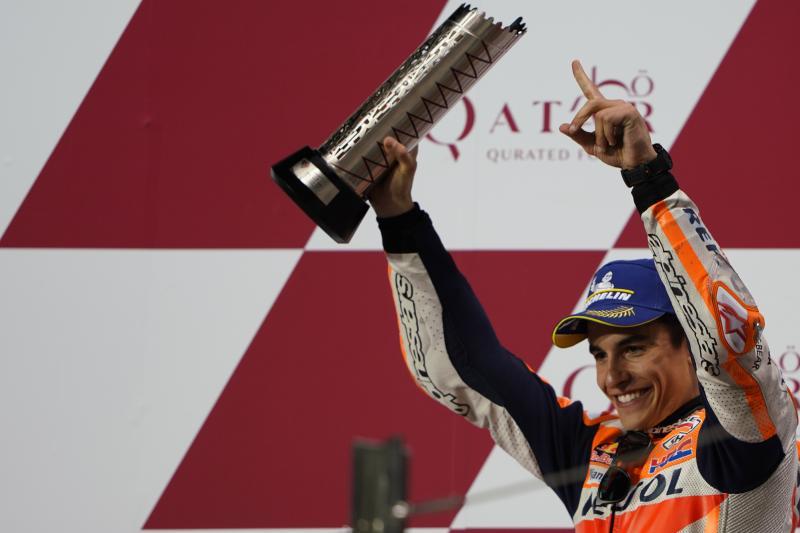 Marc Marquez (Repsol Honda), trofi dunia ke-8 sudah menanti di Buriram, Thailand. (Foto: marcmarquez93)