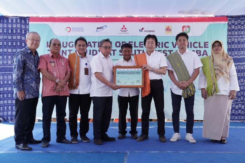 Studi ini sebagai kelanjutan dari komitmen Mitsubishi Motors terhadap pengembangan kendaraan listrik di Indonesia. (dok. MMKSI)
