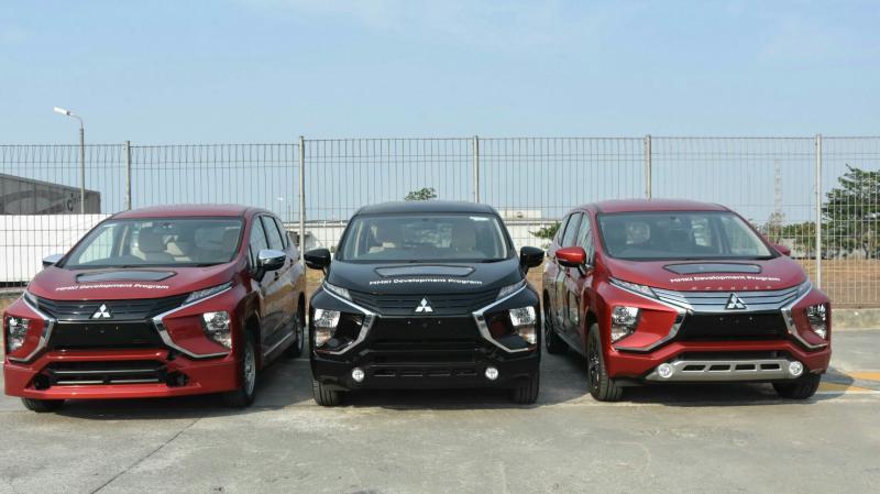 3 unit Mitsubishi Xpander didonasikan Mitsubishi Motors Krama Yudha Indonesia bukti peduli kepada pendidikan