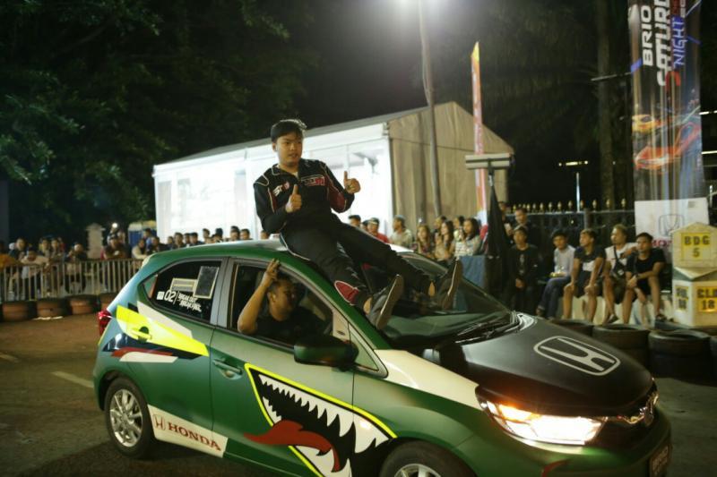 Abghi Rezandi,  peslalom muda asal Garut yang memenangi BSNC di Bandung lalu