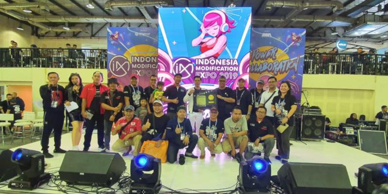 Indonesia Community Show Off (ICSO) sabet penghargaan dari Rekor Otomotif Indonesia (ROI)
