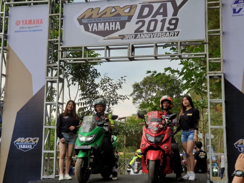 MAXI Yamaha dengan kegiatan menghibur di akhir pekan