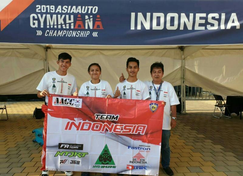 Dari kiri Adrian, Khaterine, Addyek dan Hendra Raharja akan ke AAGC Taiwan 2019