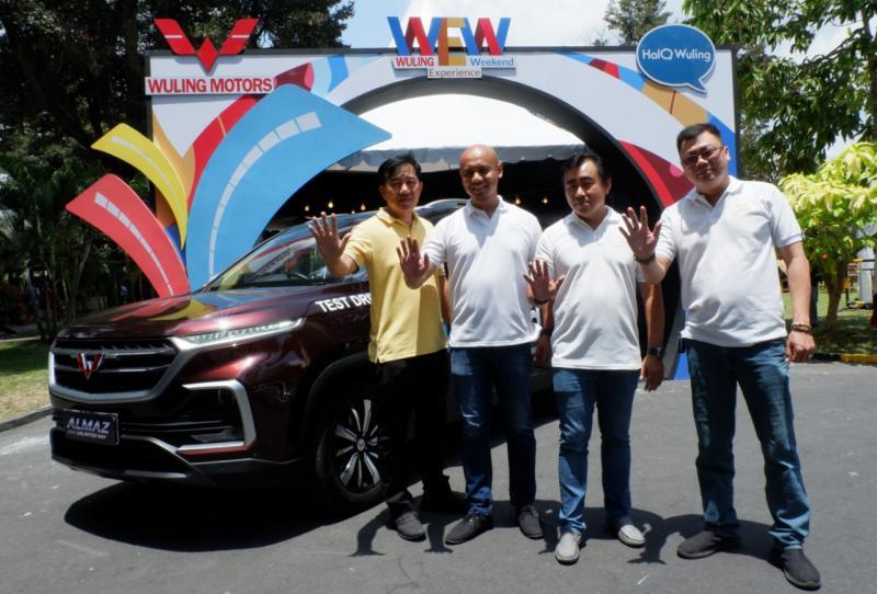 Wuling Motors melanjutkan rangkaian Wuling Experience Weekenddi Plaza Ambarrukmo, Yogyakarta, bersama dengan PT Automobil Jaya Mandiri. (dok. Wuling)